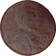 1952 Wheat Cent - Obverse