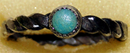 Silver and Turquoise Ring