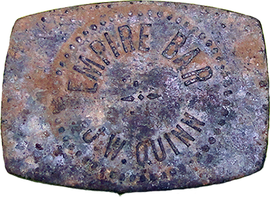 Empire Bar Token - Obverse